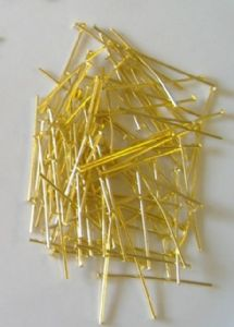 100 Brass Pins 30mm long